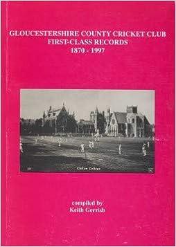 Descargar U Torrent Gloucestershire C.c.c. First-class Records 1870-1997 Formato Epub Gratis