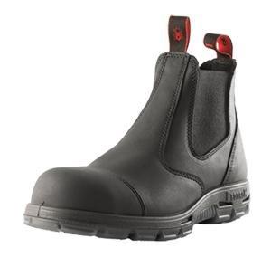 """4464cb4e782 Redback Boots USBBKSC """"Easy Escape"""" Steel Toe Scuff Cap – Black (10 UK (11  US))"""