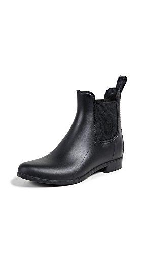 (Sam Edelman Women's Tinsley Rain Boot, Black Matte, 7 M US)