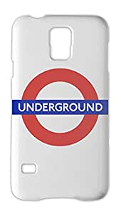 London Underground Subway Logo Samsung Galaxy S5 Plastic Case
