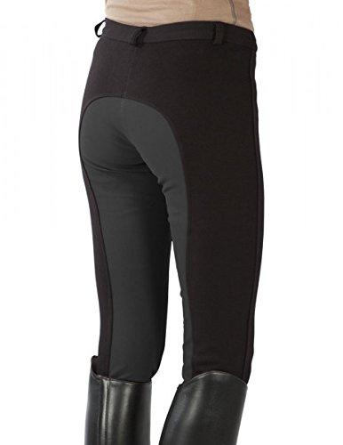 Pfiff 101197 Femme gray 138 black Noir D'équitation Culottes 36 rrA6dxw1q