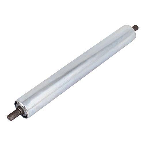 DealMux 38 millimetri x 300 millimetri in acciaio zincato al carbonio trasportatore industriale Roller