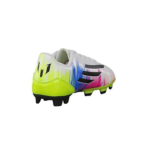 adidas F5 TRX FG Messi - Botas infantiles de fútbol white - blue - green Talla:38 2/3