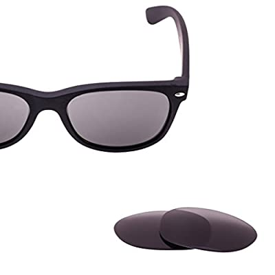 LenzFlip Polarized Replacement Lenses for Ray Ban RB2132 New Wayfarer 55mm & 52mm- Multiple Options