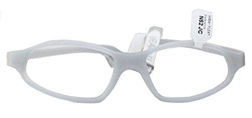Miraflex Nick 52 Adult Eye Glass Frames | 52/19 | Clear - Miraflex Eyeglasses Eyewear