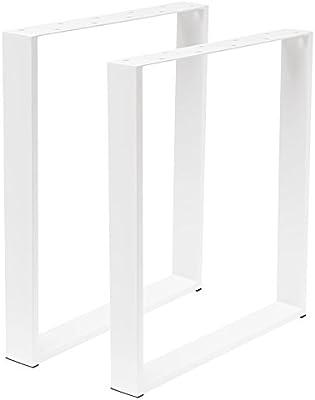 Bois Werk24 Armature De Table Tug104 Acier Blanc Table Ioniques