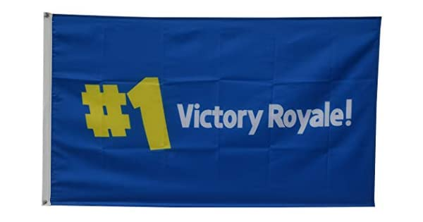 Amazon.com: Annfly # 1 Victory Royale Video Game Bandera 3 ...