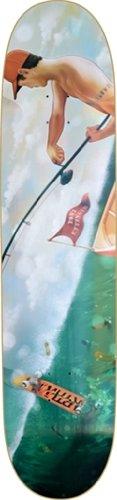 Earthwing Yoni Longboard Deck - 9.4x41 Black