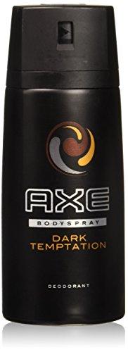 Axe Deodorant Body Spray Dark Temptation Mens Fragrance 150ml 5.07oz (3 Pack, Dark Temptation)