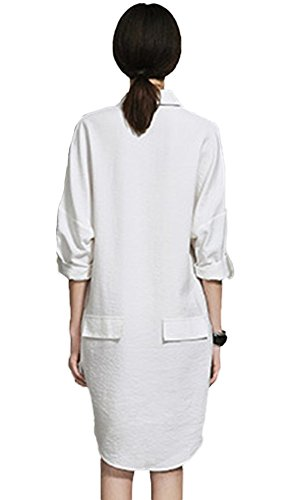 Insun Ecru 73 Robe white Off Femme EEqZrvw
