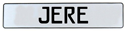 Vintage Parts 665375 Wall Art (White Stamped Aluminum Street Sign Mancave Jere)
