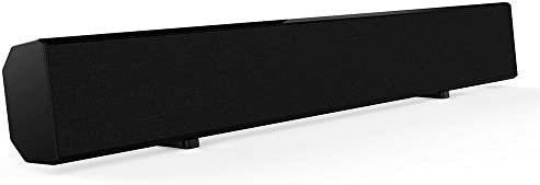 Sound Bar, Mighty Rock Sound Bars for TV 2.0 Channel Home Theater Speaker Wired and Wireless Surround Stereo Sound Audio for TV With Remote Control (Black)