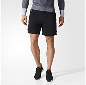 adidas Men's Running Ultra Rugby Shorts, Black, Large9