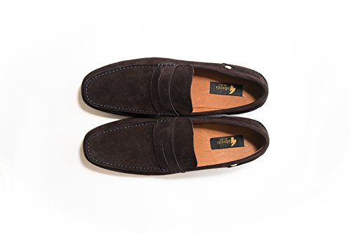 Delicious Junction Suede Gabicci Crosby Loafer Navy rSRnWxrqwg