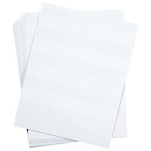 Panduit S075X150YAJ Laser/Inkjet Self-Laminated Label, Polyester, Clear/ White (2,500-Pack)