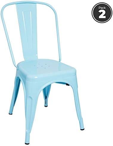 Regalos Miguel - Packs Sillas Comedor - Pack 2 Sillas Torix - Azul ...