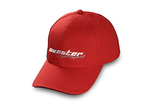 MONSTERSPORT cap Red ZZWC15 by MONSTER SPORT