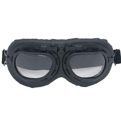 Mirror Polarized View Rear (Aooaz Motorcycle Goggles Tactical Glasses Outdoor Sports Clear)
