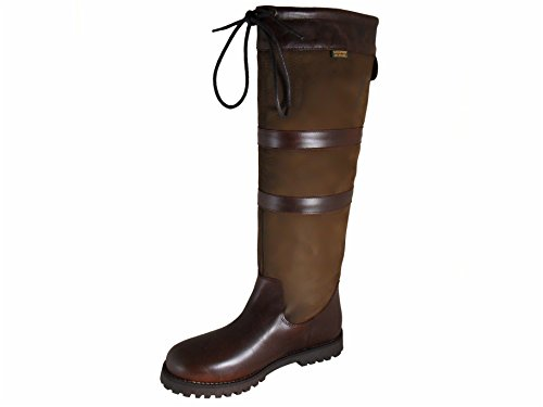 Brown Ladies Highgrove Fitting Leather Waterproof Boots Cabotswood Wide wA7vxqz