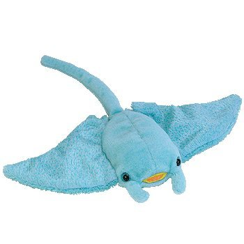 df53f4afd21 Amazon.com  TY Beanie Baby - SUNRAY the Manta Ray  Toys   Games