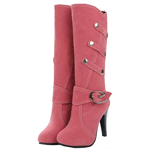 Women's Red Red Boot Women's Boot Classic AIYOUMEI AIYOUMEI Classic 4q76B5ww