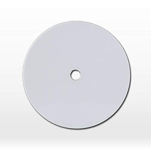 On-Metal NFC Sticky Token - NTAG213 - White - 30 mm with Hole - 10 Pack