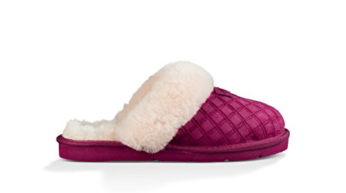 Ugg Womens Cozy Double Diamond Holiday Box Slippers Lonely Hearts RC4IuuS