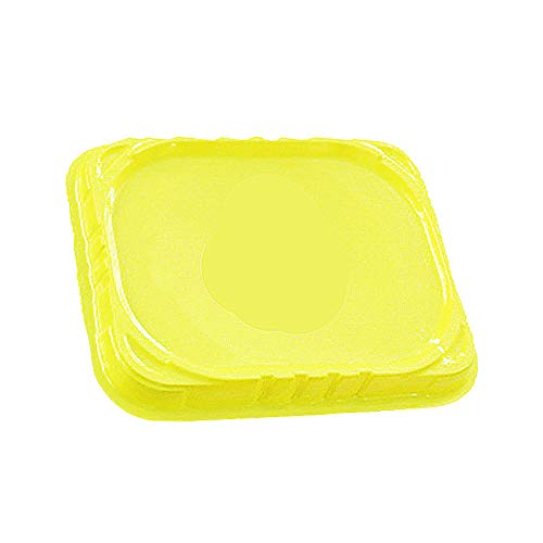 Cocal Gyroscopes Launcher Stadium Burst Gyro Arena Disk Exciting Duel Spinning Toy Accessories Top Desktop Playthings (Yellow)