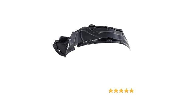 Front Fender Liner Splash Shield Left Driver Side CarPartsDepot Plastic Assembly 378-35283-11 MI1248106 MR539629