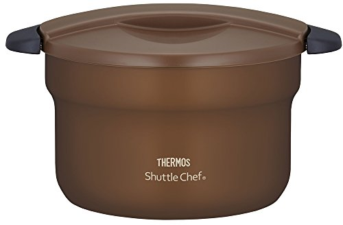 THERMOS vacuum heat insulation cooker shuttle chef 2.8L [for 3 to 5 people] Mocha KBF-3001 MC by Thermos