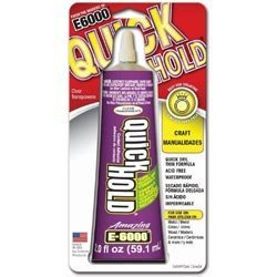 (Eclectic Bulk Buy (3-Pack) E6000 Quick Hold Adhesive 2 Ounce 380722 )