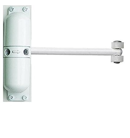 Homy Autom/ática Cierra Puertas Cierre de puerta autom/ático Blanco con muelles, montaje en superficie