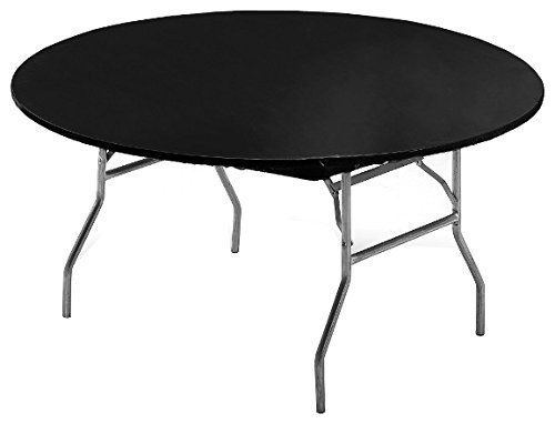 Creative Converting 703000 Stay-Put Round Plastic Table Cover, 60
