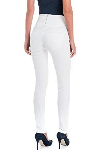 Amincissants Diva Slim Salsa Blanc Pantalons qtx5n7wSz