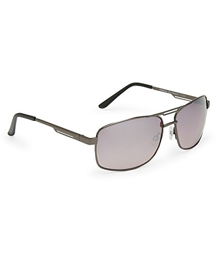 Aeropostale Men's Hematite Navigator Sunglasses Black - Aeropostale Sunglasses