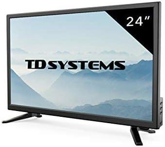 Televisor Led 24 Pulgadas Full HD, TD Systems K24DLT7F. Resolución 1920 x 1080, HDMI, VGA, USB Reproductor y Grabador.: Amazon.es: Electrónica