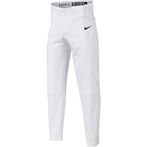 (Nike Boys' Pro Vapor Baseball Pants White 747237 100 (LG (14-16 Big Kids))❗️Ships Directly from)
