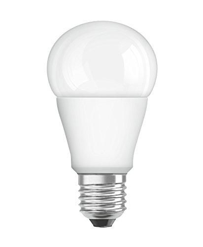 OSRAM LED STAR Ampoule LED, Forme Classique, Culot E27, 8W Equivalent 60W, 220-240V, dépolie, Blanc Chaud 2700K, Lot de 1 pièce