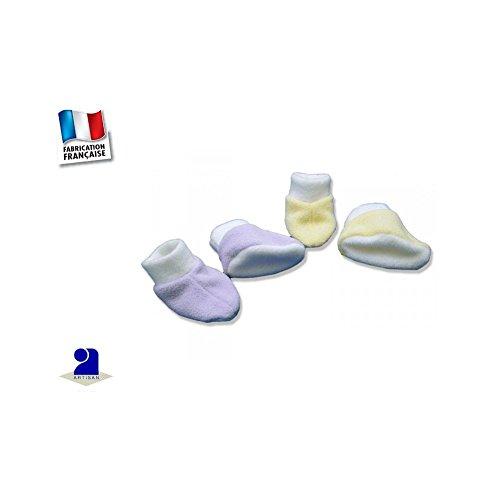 Lot Et À 1 0 Jaune Bleu Poussin Mauve Bébé Chaussons Taille Mois 6XxZzqw5