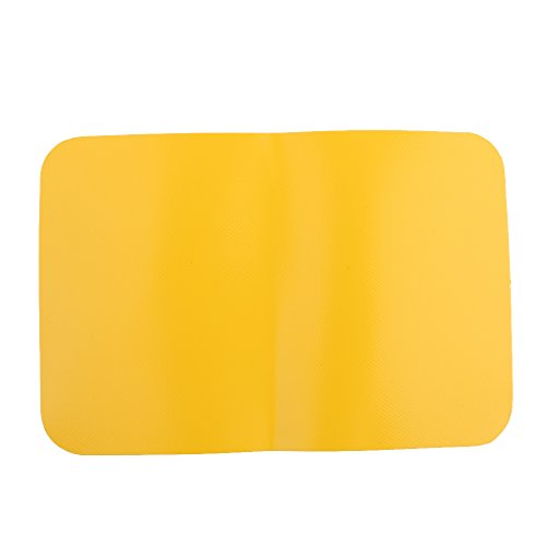 (MagiDeal Inflatable Kayak Boat Dinghy Rib Canoe Waterproof PVC Repair Patch Kit 20 x 13cm - 5 Colors - Yellow)
