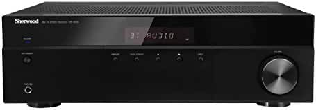 Sherwood RX4508 200W AM/FM Stereo Receiver with Bluetooth, Black