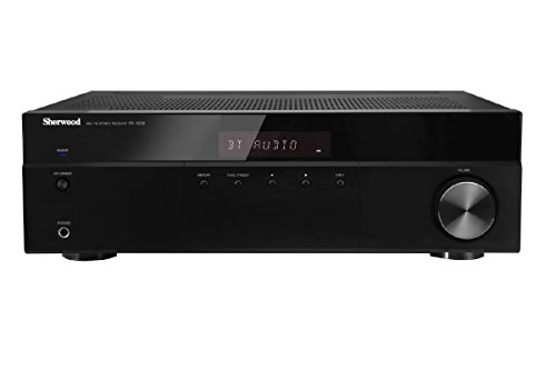 Sherwood RX4508 200W AM/FM Stereo Receiver with Bluetooth, Black (3 Channel Receiver)