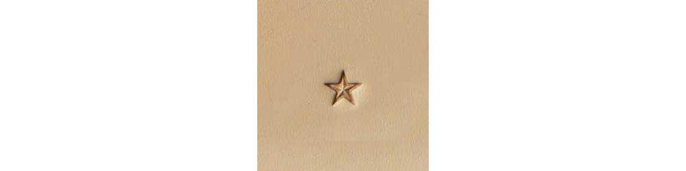 Tandy Leather Z609 Craftool Medium Star Stamp 6609-00