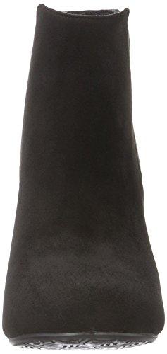 XTI Carmela 30272 - Botas de caña baja con forro cálido y botines para mujer Negro