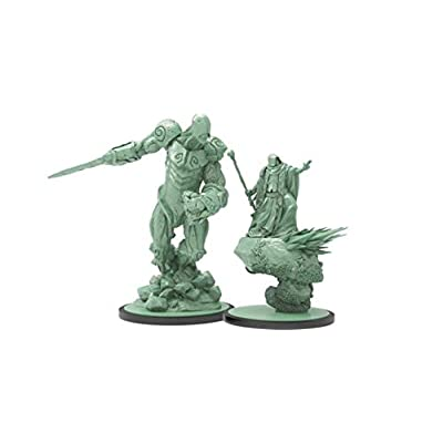 S G Steamforged Games - Godtear - Shayle, Keeper of The Oath & Landslide: Toys & Games