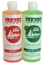 Semco Teak 20724 TEAK CLEANER PARTS 1&2/BAG 2-PART TEAK CLEANER