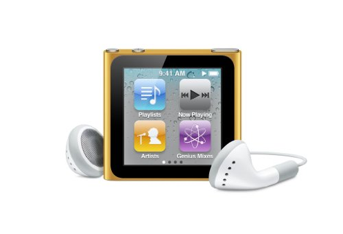 (Apple iPod nano 8 GB Orange (6th Generation) (Discontinued by Manufacturer))