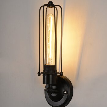 LED Wall Lights Wall Sconce Light Fixture Up Down Decorative Wall Lighting Ming Light Family of The Ming and Qing Classical Antique Sepia Art Village Industrial Fan Cages sub-Long -