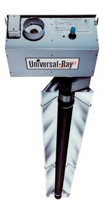 Universal Ray RH-75-40-P, Single Stage, Propane Gas, 75,000 BTU, 40 foot Emitter Tube, Highly Polished Reflectors, Black Coated Aluminized Steel Emitter Tubes, Made in USA by Universal Ray (Image #1)