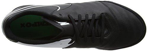 Tiempo Genio Uomo Nero black Ii Scarpe white Calcio Green electro Leather black Da Nike qAwdcpq5
